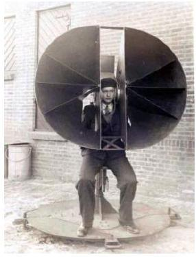 Acoustic array circa WWII